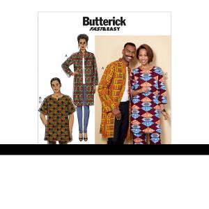 Mantel/Hose/Tunika, Butterick 6534