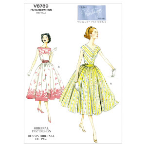 Vintage Kleid, Vogue 8789