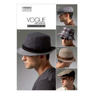 Hut, Vogue 8869 Gr. Alle Größen