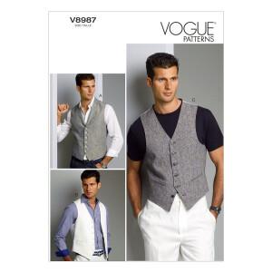 Weste, Vogue 8987