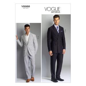 Anzug, Vogue 8988