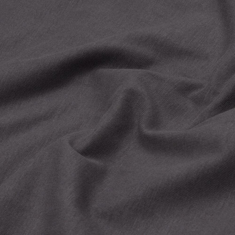 Bio Jersey uni soft touch dunkelgrau grau