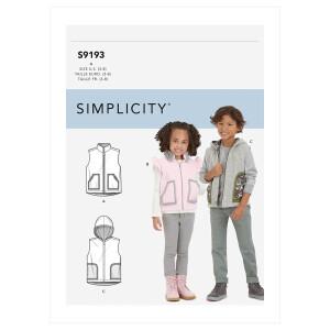 Weste, Simplicity 9193