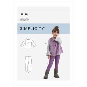 Weste + Legging, Simplicity 9198