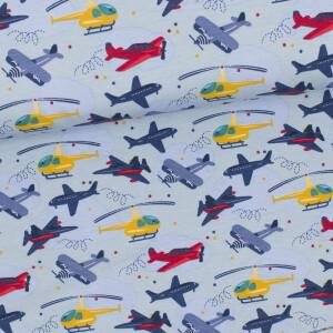 Jersey Flugzeuge, hellblau