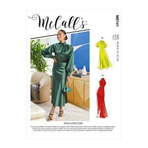 Kleid mit Kragen, McCalls 8141