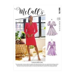 Kleid im 80er Style, McCalls 8176