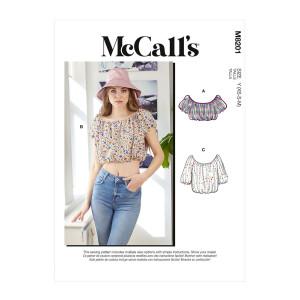 Bauchfreies Top, McCalls 8201