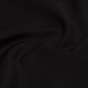 Baumwollsatin, schwarz