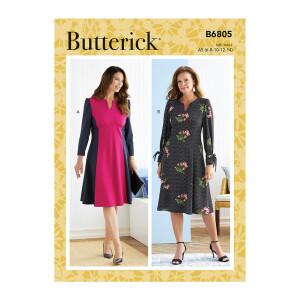 Langarm Damen Kleid, Butterick 6805
