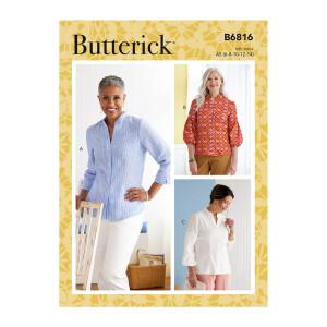 Damen Bluse, Butterick 6816