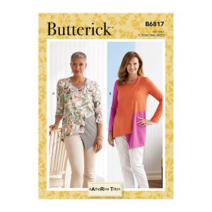 Damen Top asymetrisch, Butterick 6817