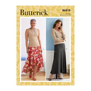 Damen Rock, Butterick 6818