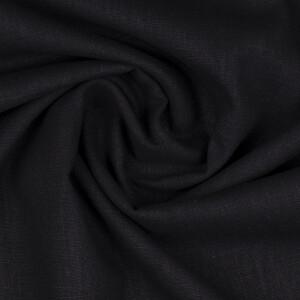 Leinen, schwarz