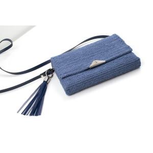 Taschenverschluss dreieckig, silber