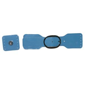 Taschenverschluss magnetisch, rauchblau