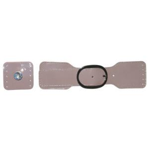 Taschenverschluss magnetisch, taupe
