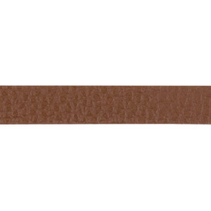 Kunstlederband 10 Meter, 10mm, braun