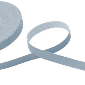 Kunstlederband 10 Meter, 10mm, eisblau