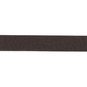 Kunstlederband 10 Meter, 10mm, dunkelbraun