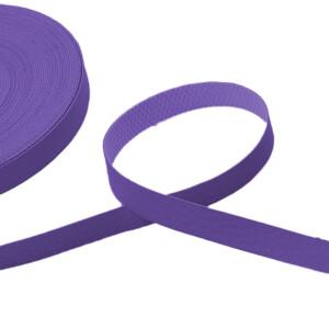 Kunstlederband 10 Meter, 10mm, lila