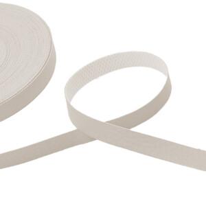 Kunstlederband 10 Meter, 10mm, beige