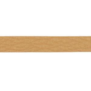 Kunstlederband 10 Meter, 10mm, honig