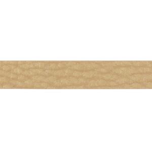 Kunstlederband 10 Meter, 10mm, gold