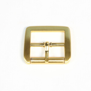 Gürtelschnalle 25mm, gold