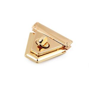 Taschenverschluss 47x50mm, rosegold