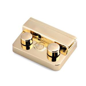 Taschenverschluss gerade 32x46mm, gold