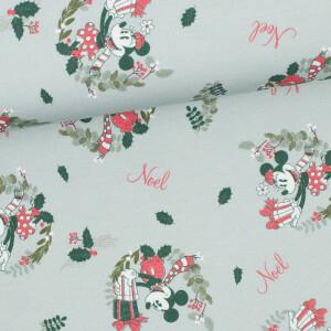 Disney Sweat Mickey Mouse Christmas, pastellgrün