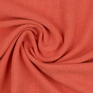 Viskose Leinen, orange