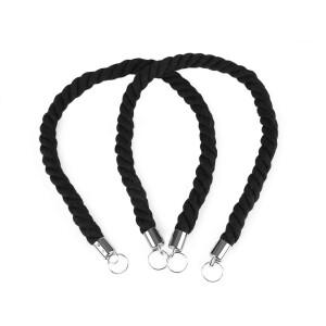 Taschengriffe Kordel 20mm, schwarz