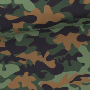 Softshell Camouflage, grün
