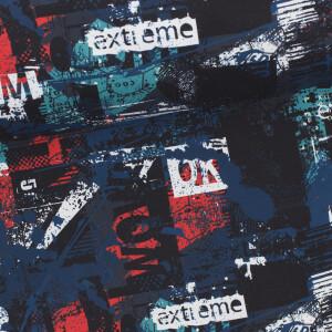 Softshell Extreme, schwarz/blau/petrol