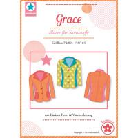 Papierschnittmuster Grace, Gr. 74/80 - 158/164