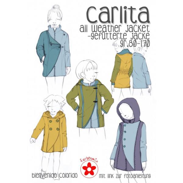 Papierschnittmuster Carlita, Gr. 80 - 170