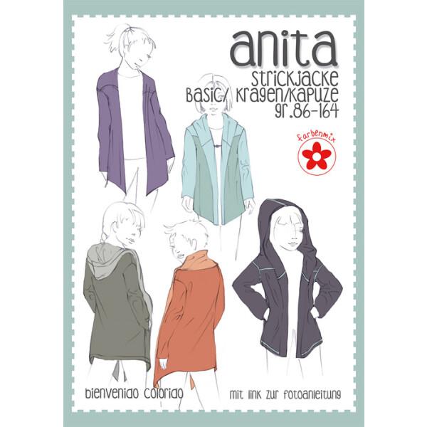 Papierschnittmuster Anita, Gr. 86-164