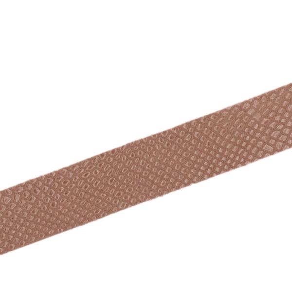 Schlangenimitat in beige, 30 mm