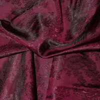 Paisley Futterstoff, burgundy