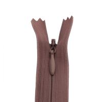 Nahtverdeckter Reißverschluss 40 cm, dunkelbeige