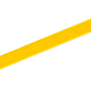 Samtband 10 mm, gelb