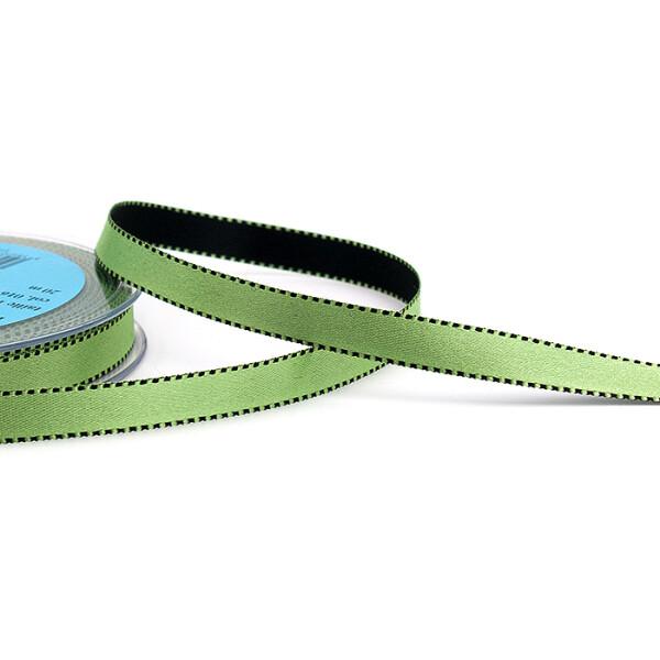 Satinband grün, 10 mm
