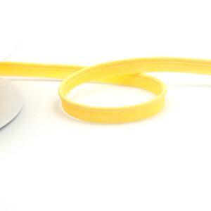 Paspelband fein 10 mm, pastellgelb