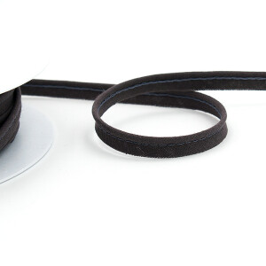Paspelband fein 10 mm, grau