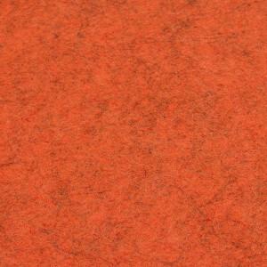 Filz 3 mm, orange meliert 48x68cm