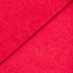 Filz 3 mm, rot meliert 48x68cm