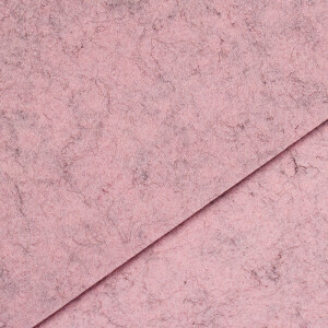 Filz 3 mm, puder meliert 48x68cm