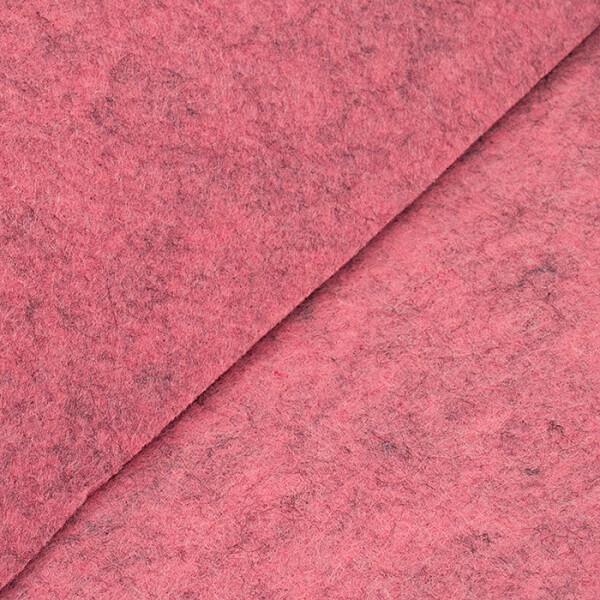 Filz 3 mm, rosa meliert 48x68cm